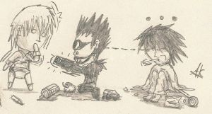 Death Note -Childhood 1- by AkatsukiFan505