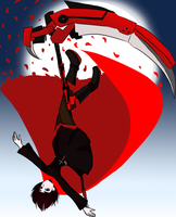 RWBY RED by burntnoodles