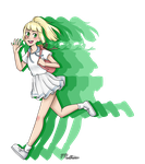 Pokemon Sun and Moon Lillie by nikki45e