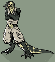 [C] Hot Piece of Gator by classic-creep