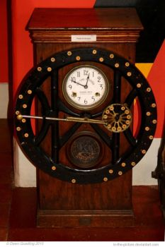 Victorian Clocking In by In-the-picture