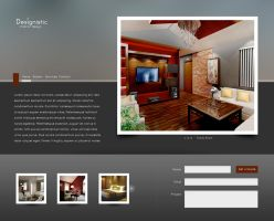 Interior Design Site by jrdnG