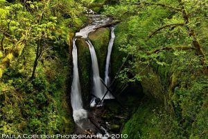 Waterfall - Triple Falls by La-Vita-a-Bella