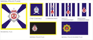 Imperial Police Flags by Ienkoron