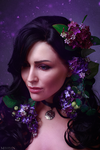 The Witcher - Flower portraits - Yennefer by MilliganVick