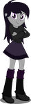 Equestria Girls: Endie (Ender Mare) (Request) by DeathNyan