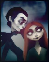 Pumpkin King and Queen by andrahilde