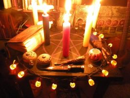 Wiccan Alter by Squijim85