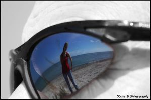 black and white sunglasses by katievphotography