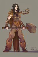 Character Design Twinblades 03 by RobDuenas