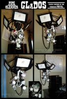 Pipe Cleaner GLaDOS by teblad