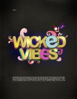 wicked vibes poster by sounddecor