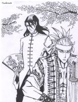 Bleach 6th Division by Toushirou10