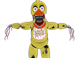 Collab/WIP - Chica by PolisBil