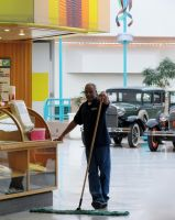 The Sweeper Man by Artlune