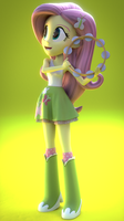 Fluttershy Blender Test by Jarg1994