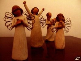 Pseudo Sepia Angels by JJTM