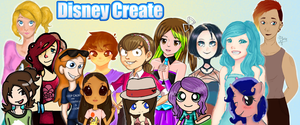 Disney Create group collaboration by The-Tabbycat-Witch