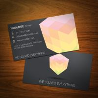 Cubic Business Card 01 by KaixerGroup