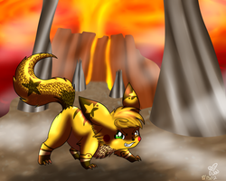 You trespassed into my territory by eevee4everX3