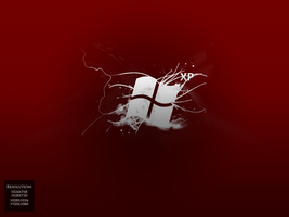 WindowsXP Red Motion Wallpaper by pixiproject