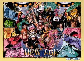 One piece 693 Colorspread. by Gonzaloguay
