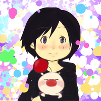 Moogle and Xion 'request' by PoppetthePuppet101