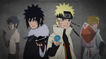 Menma and Naruto Desktop Background [1366x768] by Dark-Times