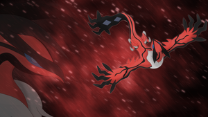 Yveltal wallpaper V2 by Elsdrake