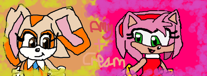 Amy and Cream by Daracoon911