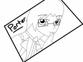 Poter Lineart by The-Insane-Puppeteer