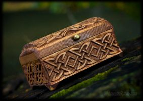 Front of Celtic box by pagan-art