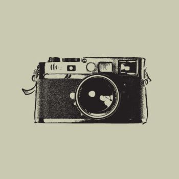 Vintage SLR Camera by iwillstockyou