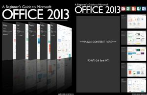 Microsoft Office 2013 Book Cover by MrChezco1995