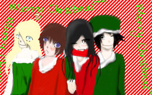 A more accurate version of a Baka Christmas by Dyegth