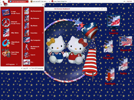 Patriotic Kitty by TNBrat