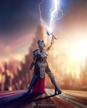 Jane Foster - Thor - Cosplay by raquelsparrowcosplay