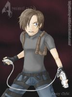 Wii RE4 by Krazy-Chibi