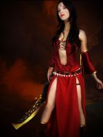 Kaileena - Prince of Persia by xxxDaamile