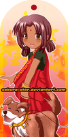 Bookmark1: Indian Girl by Sakura-Star