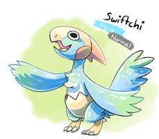 Swiftchi by albino-penguin