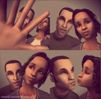 Me and paxton in sims 2 by Shashi92