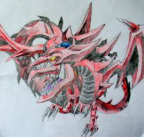 Slifer The Sky Dragon by nath2897