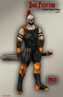 SF Files 1997:  Ares by saintfighteraqua