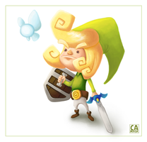 The Legend of Link by heeycah