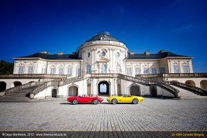 Stingrays at Rokoko Castle V by AmericanMuscle