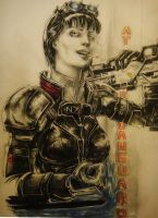 my big sister in mass effect by Nahar-Doa