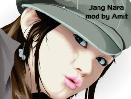Jang Nara Wallpaper by amitsaraf32