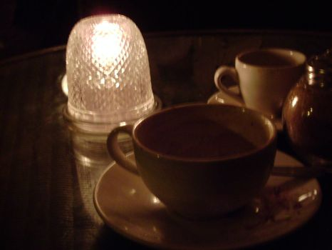 Coffee in the Evening by GRiMTHEPUNCHDRUNK