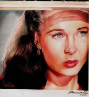 Vivien Leigh - Eternal Scarlett by dilhermandodidi